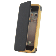 KLD puzdro knižka Apple iPhone 5/5C/5S/SE Charming čierne