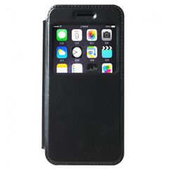 KLD puzdro knižka Apple iPhone 6/6S Sun čierne PT