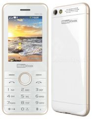 Maxcom MM136 bielo-zlatý