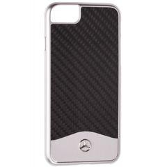 Mercedes puzdro plastové Apple iPhone 7 MEHCP7CACBK Carbon čierne