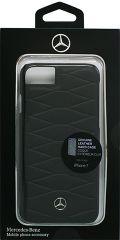 Mercedes puzdro plastové Apple iPhone 7 MEHCP7WHCLBK Pattern III čiern