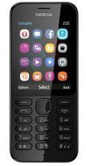 Nokia 222 DUAL čierny