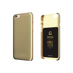 Occa puzdro plastové Apple iPhone 6/6S Absolute bežové