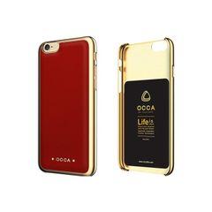 Occa puzdro plastové Apple iPhone 6/6S Absolute červené