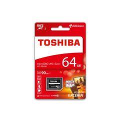 Pamäťová karta 64GB Toshiba microSDHC class 10 s adaptérom PT