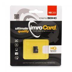 Pamäťová karta 16GB Imro microSDHC class 4 bez adaptéra