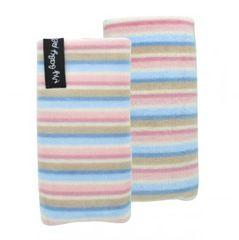Puzdro textilné 2XL My Baby Plush vsuvka ružovo-modré