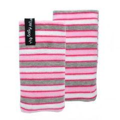 Puzdro textilné 2XL My Baby Plush vsuvka ružovo-šedé