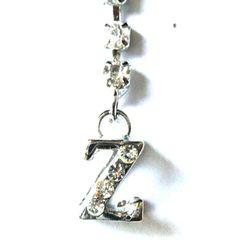Prívesok swarowski písmeno Z