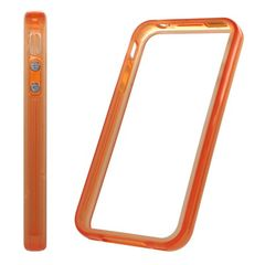 Puzdro rámik Apple iPhone 4 oranžové