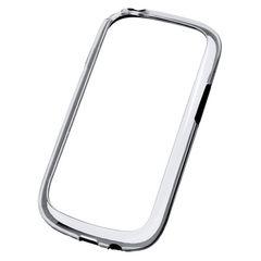 Puzdro rámik Samsung I8190/I8200 Galaxy S3 Mini čierne transpare