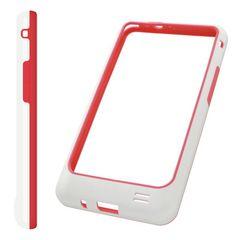 Puzdro rámik Samsung I9100 Galaxy S2 červené