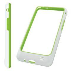 Puzdro rámik Samsung I9100 Galaxy S2 zelené