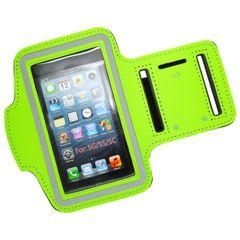 Puzdro športové Apple iPhone 5/5C/5S/SE zelené