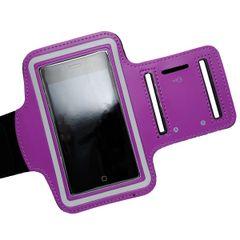 Puzdro športové Apple iPhone 5/5C/5S/SE fialové