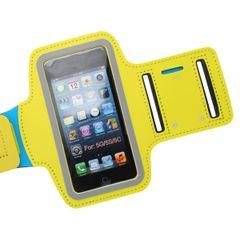 Puzdro športové Apple iPhone 5/5C/5S/SE žlté