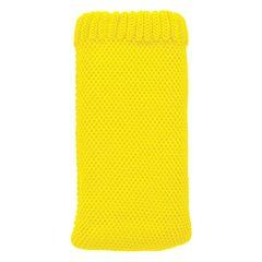 Puzdro textilné Apple iPhone 3/4/4S žlté