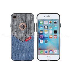 Remax puzdro plastové Apple iPhone 7 Sinche series modré HT