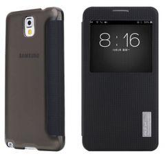 Rock puzdro knižka Samsung N7505 Galaxy Note 3 neo čierne