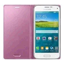 Samsung puzdro knižka G800 Galaxy S5 mini EF-FG800BP ružové