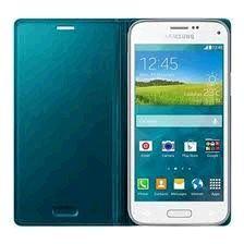 Samsung puzdro knižka G800 Galaxy S5 mini EF-FG800BG zelené