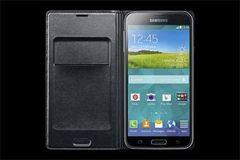 Samsung puzdro knižka G900 Galaxy S5 EF-WG900BBE čierne