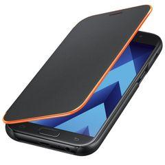 Samsung puzdro knižka A520 Galaxy A5 2017 EF-FA520BEGWW Neon Flip šedé