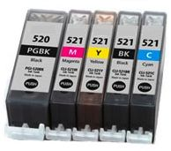 Toner Canon CLI-521 compatible purpurový s čipom