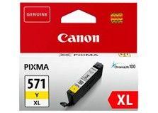 Toner Canon CLI-571Y XL originál žltý