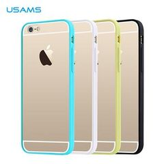 Usams puzdro gumené Apple iPhone 6/6S Edge biele