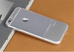 Usams puzdro gumené Apple Iphone 6/6S Ease strieborné
