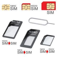 Adaptér na SIM 3v1