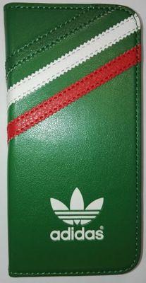 Adidas puzdro knižka Apple Iphone 5/5C/5S/SE Mexico zelené