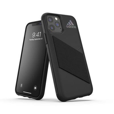 Adidas puzdro plastové Apple iPhone 11 Pro Pocket čierne