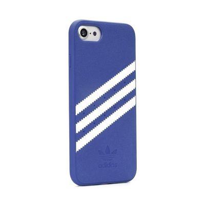 Adidas puzdro plastové Apple iPhone X/XS Suede modré
