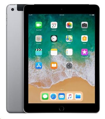 "Apple iPad 9,7"" Wi-Fi + Cellular 32GB šedý"