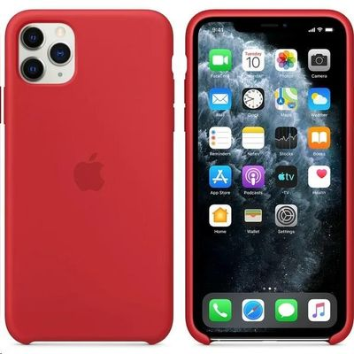 Apple puzdro gumené Apple iPhone 11 Pro Max MWYV2ZM/A Red