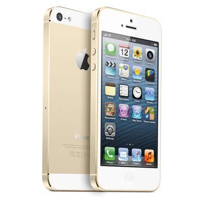 Apple iPhone 5S 16GB zlatý používaný
