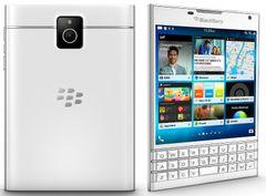 BlackBerry Passport biely