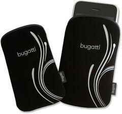 Bugatti puzdro vsuvka Berlin semiš čierne