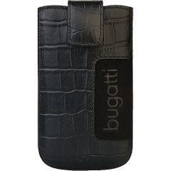 Bugatti puzdro vsuvka SL Croco čierne