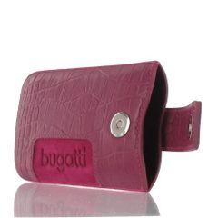 Bugatti puzdro vsuvka SL Croco ružové