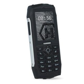 MyPhone Hammer 3 DUAL strieborný