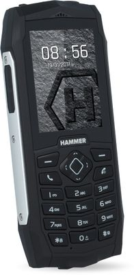 MyPhone Hammer 3 Plus DUAL strieborný