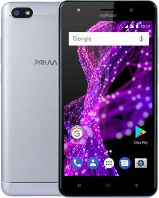 MyPhone Prime 2 strieborný