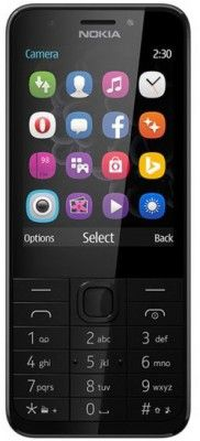 Nokia 230 DUAL šedý