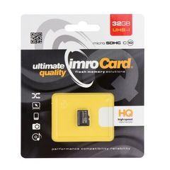 Pamäťová karta 32GB Imro microSDHC class 10 bez adaptéra PT