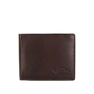Peňaženka pánska Always Wild N992-BRN 2 tmavo-hnedá