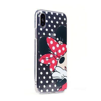 Puzdro gumené Apple iPhone 5/5S/5SE Minnie Mouse vzor 003 PR