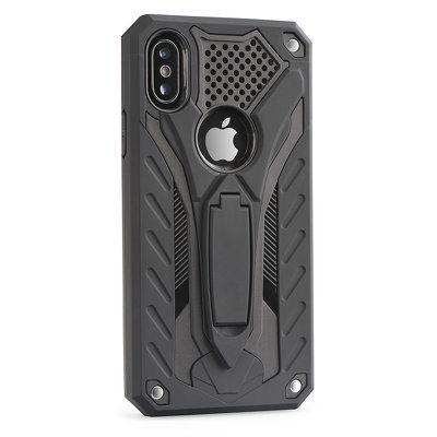 Puzdro gumené Apple iPhone 8 Phantom čierne PT